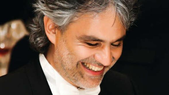 Andrea Bocelli va concerta pentru prima data in Romania