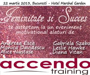 Andreea Esca: Femeile reprezinta o mare forta in Romania