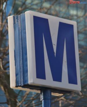 Angajatii Metrorex protesteaza in fata Ministerului Transporturilor