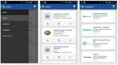 Angajatorii pot accesa baza de date BestJobs de pe terminale mobile