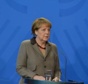 Angela Merkel si zilele terorii