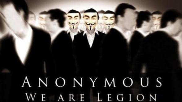 Anonymous indreapta tunurile catre companiile tehnologice