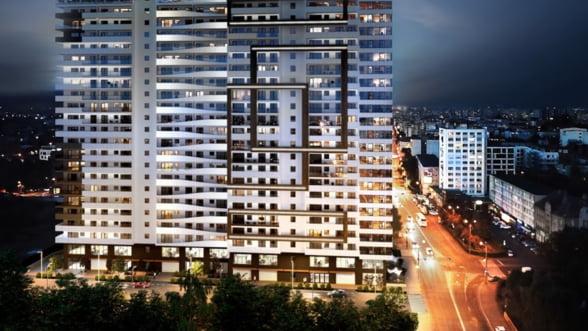 Ansamblul rezidential Maurer Panoramic din Cluj-Napoca - lucrarile evolueaza conform planului