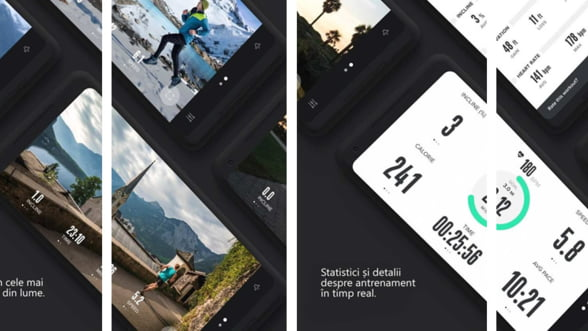 Antrenamente fitness interactive cu iFit Smart Cardio