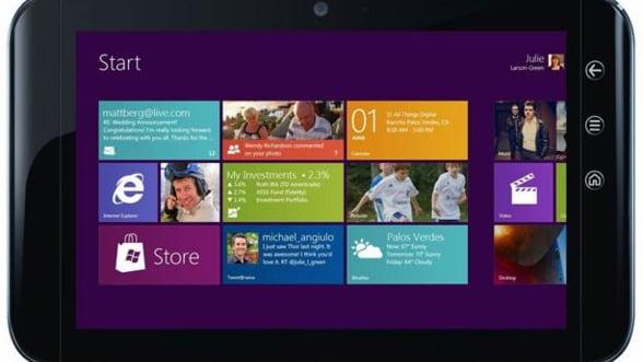 Anul acesta vor fi lansate 32 de tablete cu Windows 8