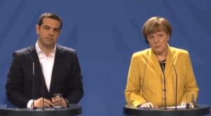 Anuntul facut dupa intalnirea Tsipras-Merkel: Cum ar putea Grecia sa evite intrarea in faliment