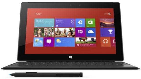 Apare Microsoft Surface Pro cu spatiu de stocare de 256GB