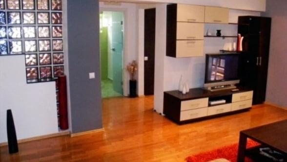 Apartamentele, din ce in ce mai ieftine