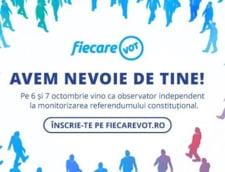 Apel de urgenta: E nevoie de observatori pentru referendum, dupa ce Guvernul a interzis monitorizarea informatica
