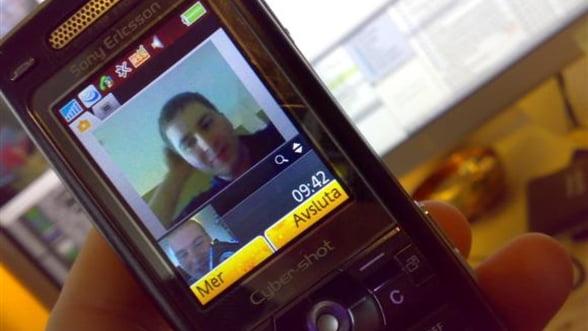 Apelurile video 3G au crescut cu 81,5% in prima jumatate a lui 2011