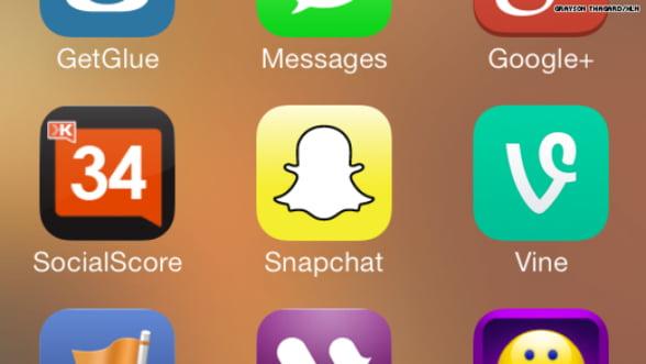 Aplicatia Snapchat are probleme de securitate