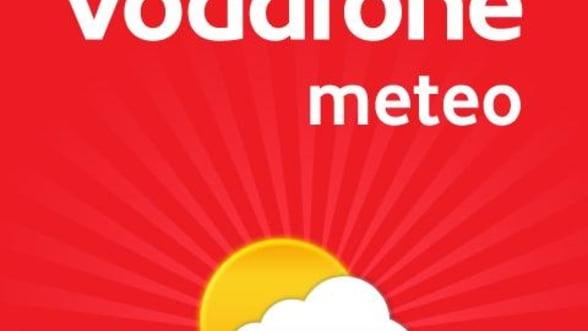 Aplicatia Vodafone Meteo a fost descarcata de 10.000 ori