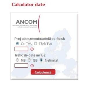 Aplicatie prin care poti calcula cat Internet poti folosi in roaming, fara costuri suplimentare