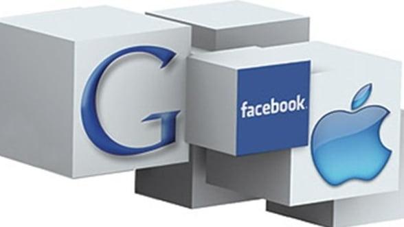 Apple, Google si Facebook se bat pentru a domina arena smartphone in SUA