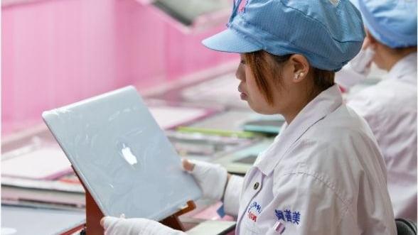 Apple, afectata de noi acuzatii cu privire la conditiile de munca din China