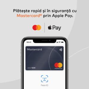 Apple Pay in Romania: Si utilizatorii Mastercard vor putea face plati cu telefonul