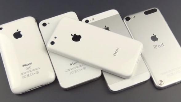 Apple reduce comenzile pentru iPhone 5C