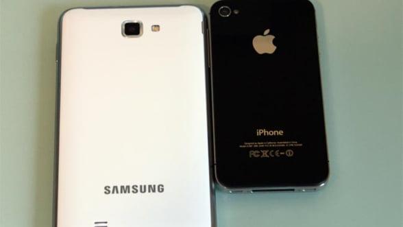 Apple si Samsung nu se impaca. Merg in instanta