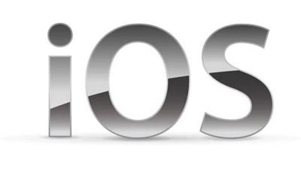 Apple updateaza sistemul de operare iOS