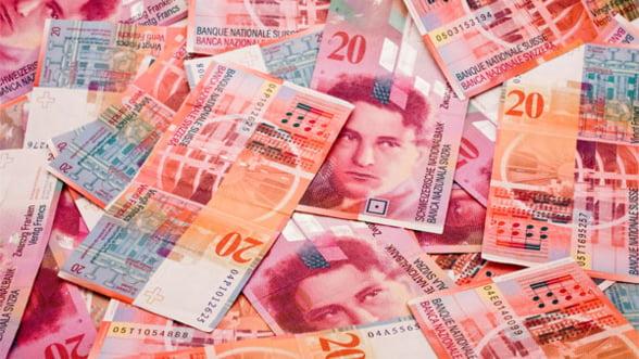 Aprecierea record a francului a dus bursa elvetiana la cea mai drastica scaderere din ultimii 27 ani