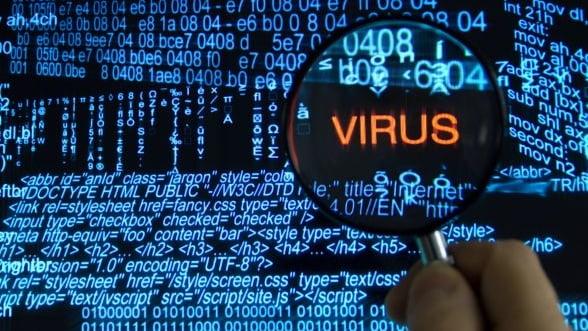 Aproape 12% din calculatoarele romanilor sunt infectate cu virusi informatici