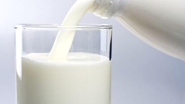 Aproximativ 40% din romani au renuntat la lapte din cauza scandalului aflatoxinei