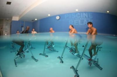 Aqua cicling: Pedaleaza mai usor, in apa