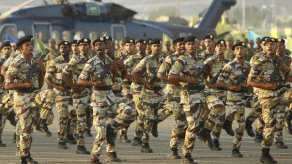 Arabia Saudita, fruntasa la investitii in aparare. SUA, la export de arme