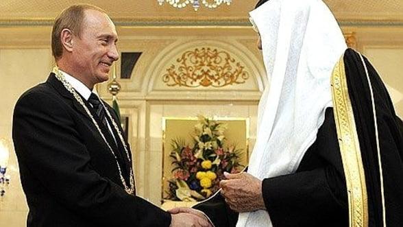 Arabia Saudita schimba taberele: Ne dorim o relatie mai buna cu Rusia!