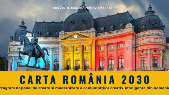 Asociatia Romana pentru Smart City lanseaza Carta Romania 2030 in cadrul celui mai important eveniment Smart City al anului