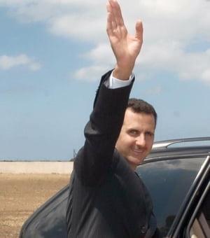 Assad ridica in slavi Rusia si acuza Occidentul ca sustine terorismul