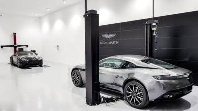 Aston Martin a lansat oficial prima sa reprezentanta din Romania