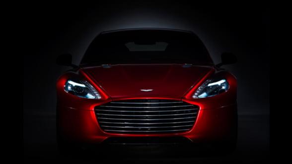 Aston Martin iti aduce noul Rapide S: Mai puternic, mai luxos