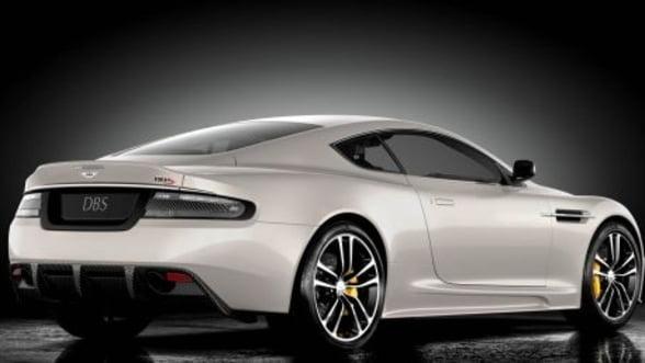 Aston Martin prezinta online editia limitata DBS Ultimate