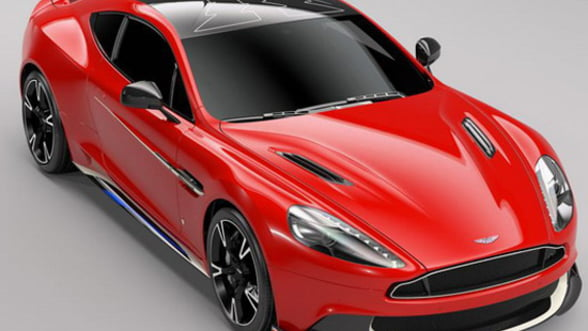 Aston Martin uimeste cu Vanquish S Red Arrows, un bolid dedicat Royal Air Force