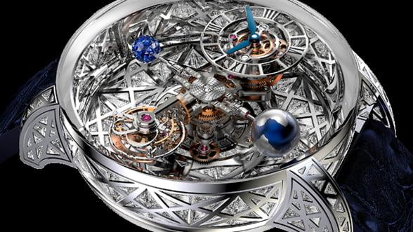Astronomia Meteorite, un ceas spectaculos, cu aspect astral