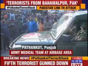 Atac la o baza militara aeriana din India - se da vina pe serviciile secrete din Pakistan
