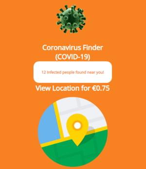 Atentie: Troianul bancar Ginp iti cere bani ca sa vezi persoanele infectate cu COVID-19 din apropiere