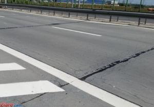 Atentie in trafic! Lucrari pe Autostrada Bucuresti - Pitesti