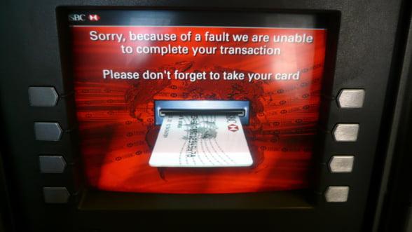 Atentie la virusul care iti fura codul PIN si blocheaza cardul in ATM!