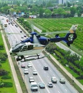 Atentie soferi! Trafic supravegheat cu elicopterul si 1.600 de politisti