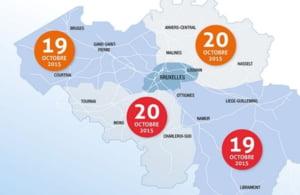 Atentionare de calatorie in Belgia - va fi greva