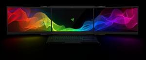 Au fost furate doua super laptopuri cu trei ecrane, prezentate in premiera mondiala