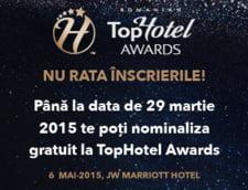 Au inceput nominalizarile la Gala TopHotel Awards