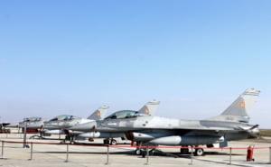 Au sosit in tara ultimele trei avioane ale escadrilei de F-16