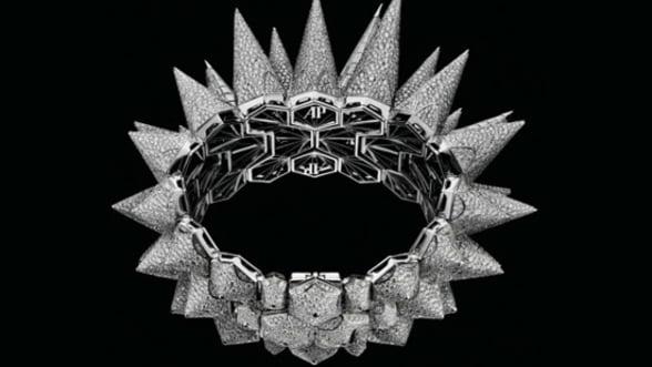 Audemar Piguet se dezlantuie cu un ceas decorat in mod original: Diamond Outrage