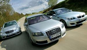 Audi, BMW si Mercedes, in continuare preferatele romanilor