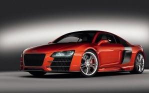 Audi R8 V12 TDI in rosu aprins la Geneva