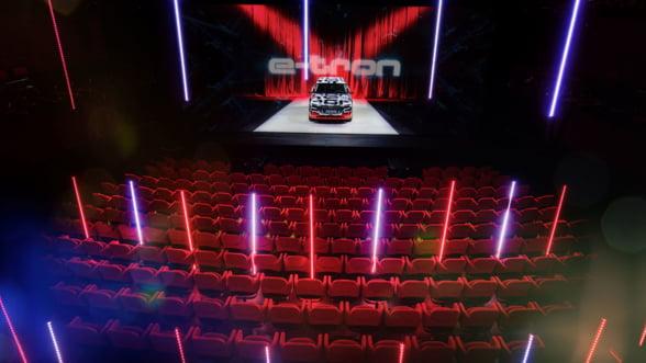 Audi a dezvaluit primul sau model electric, prototipul e-tron