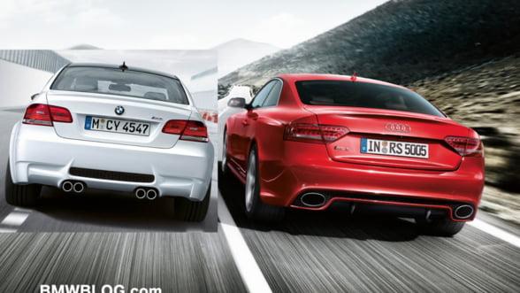 Audi a redus decalajul fata de liderul BMW pe piata auto de lux